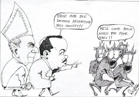 Dante Besong - Cameroon's Demons