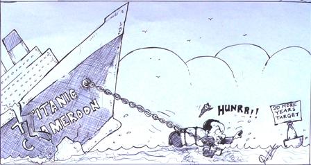 Dante Besong - Titanic Cameroon