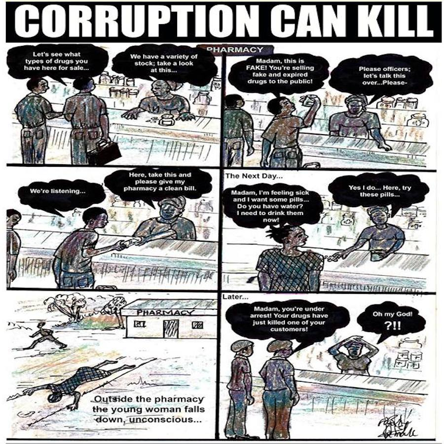 Ahmed - Corruption can Kill