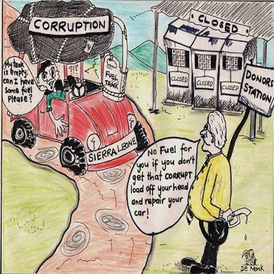Ahmed Sahid Nasralla - No Fuel for Corruption