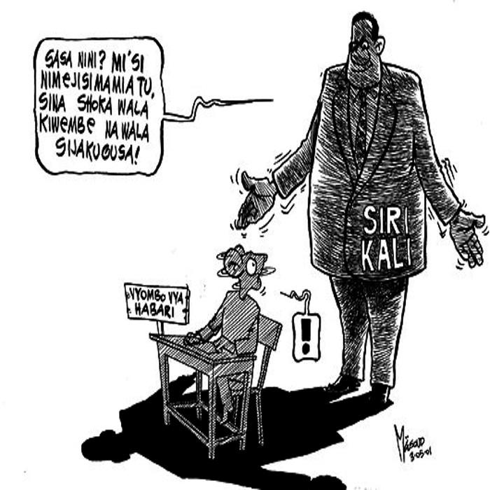 "Ali Masoud ""Kipanya"" - Media Freedom and the Government copy 2"