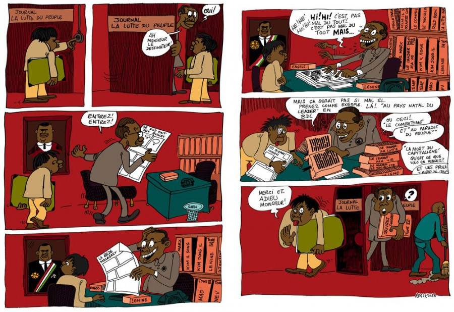 Anselme Razafindrainibe - Journal La Lutte de People