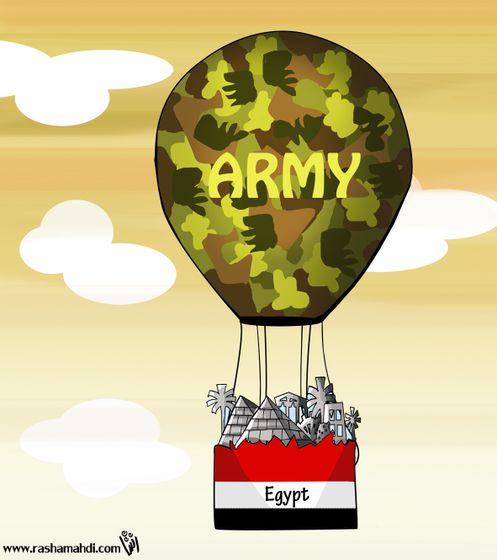 Rasha Mahdi - Army of Egypt Publicity