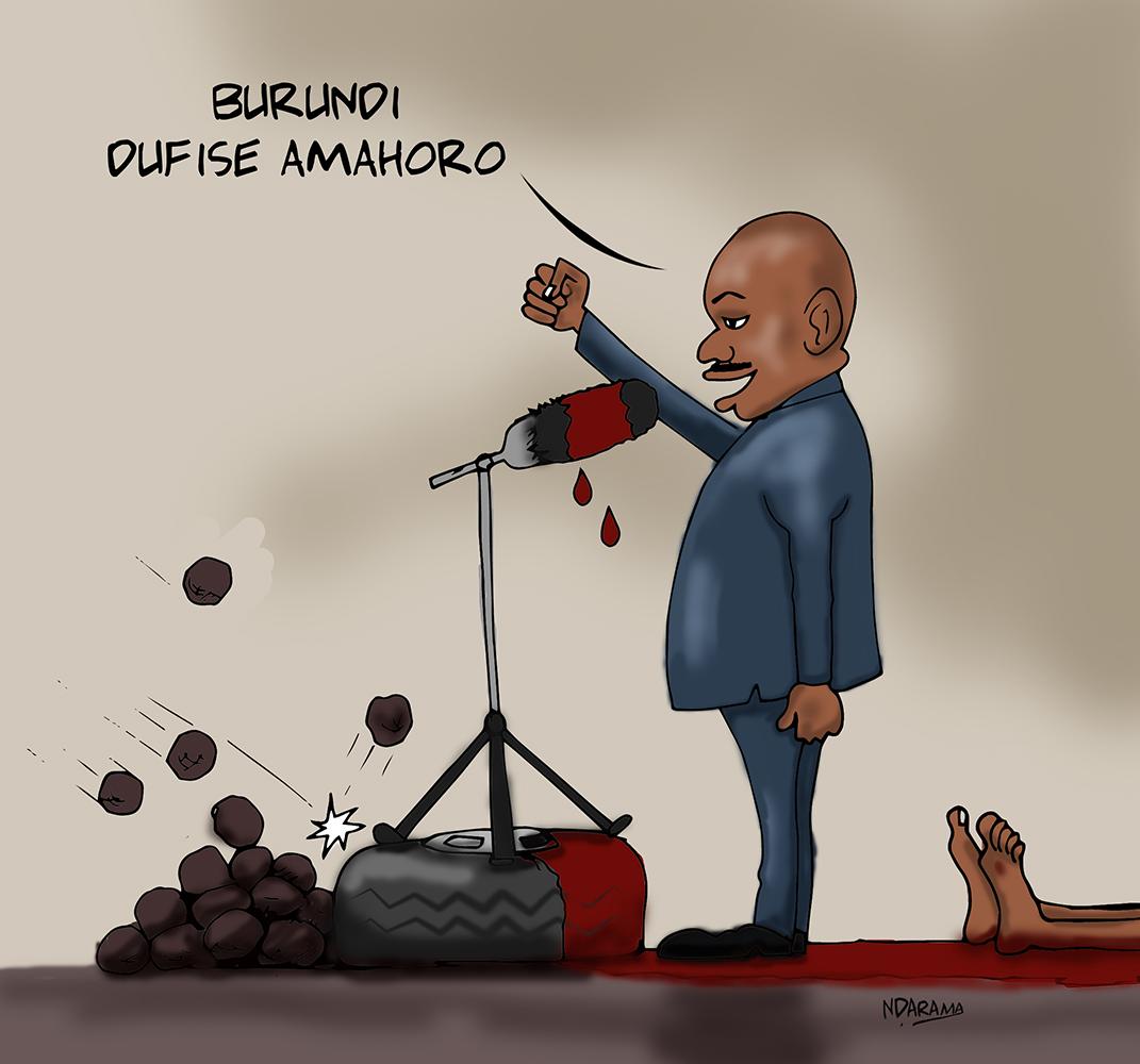 Ndarama Assoumani - Burundi Pierre