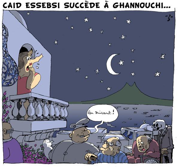 Caid Essebsi succede a ghannouchi