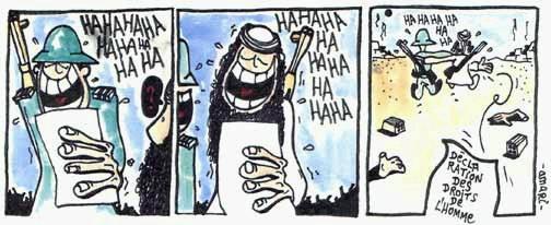 Chakwi Amari – Laughing at the Rights of Man