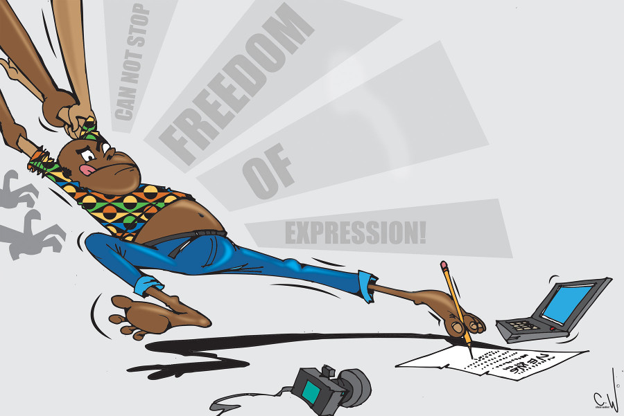 Chase Walker - Cannot Stop Freedom of Expression