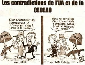 Contradiction between AU and ECOWAS