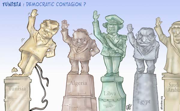 Damien Glez - Tunisia: Democratic Contagion?