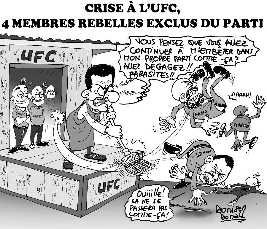 Donald Donisen-Crise a l'UFC