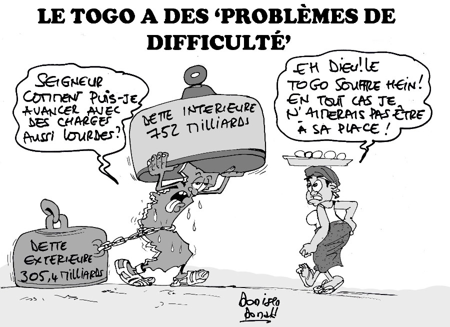 Donald Donisen- le Togo problemes