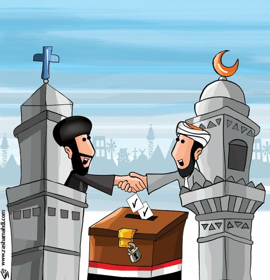 Rasha Mahdi - Egyptian Muslims and Christians in Elections