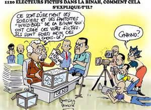 Electeurs fictifs
