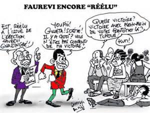 Faurevi reelected again