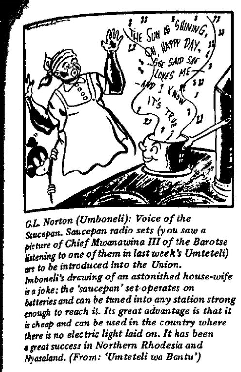 G.L. Norton - Voice of the Saucepan