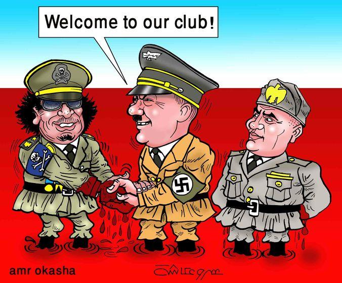 Amr Okasha - Gaddafi, Hitler, Mussolini, Club Killers
