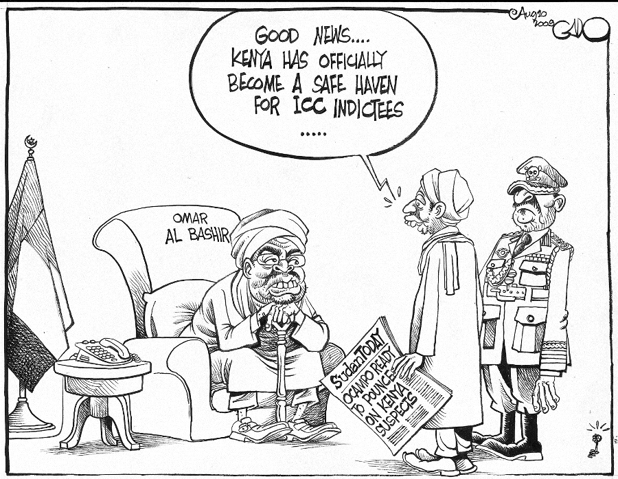 Gado- Bashir, ICC and kenya