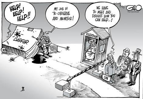 Gado-UN,US &EU on Darfur Conflict