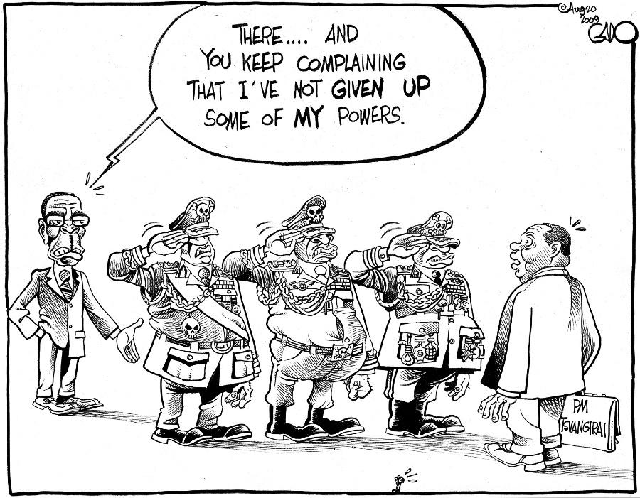 Gado- Saluting Tsvangirai