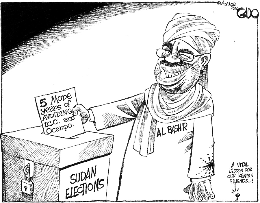 Gado - Sudan Elections, How to Avoid ICC.