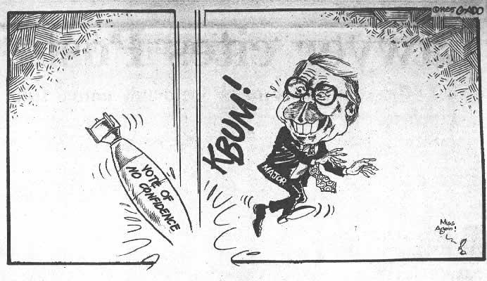 Gado - vote of no confidence