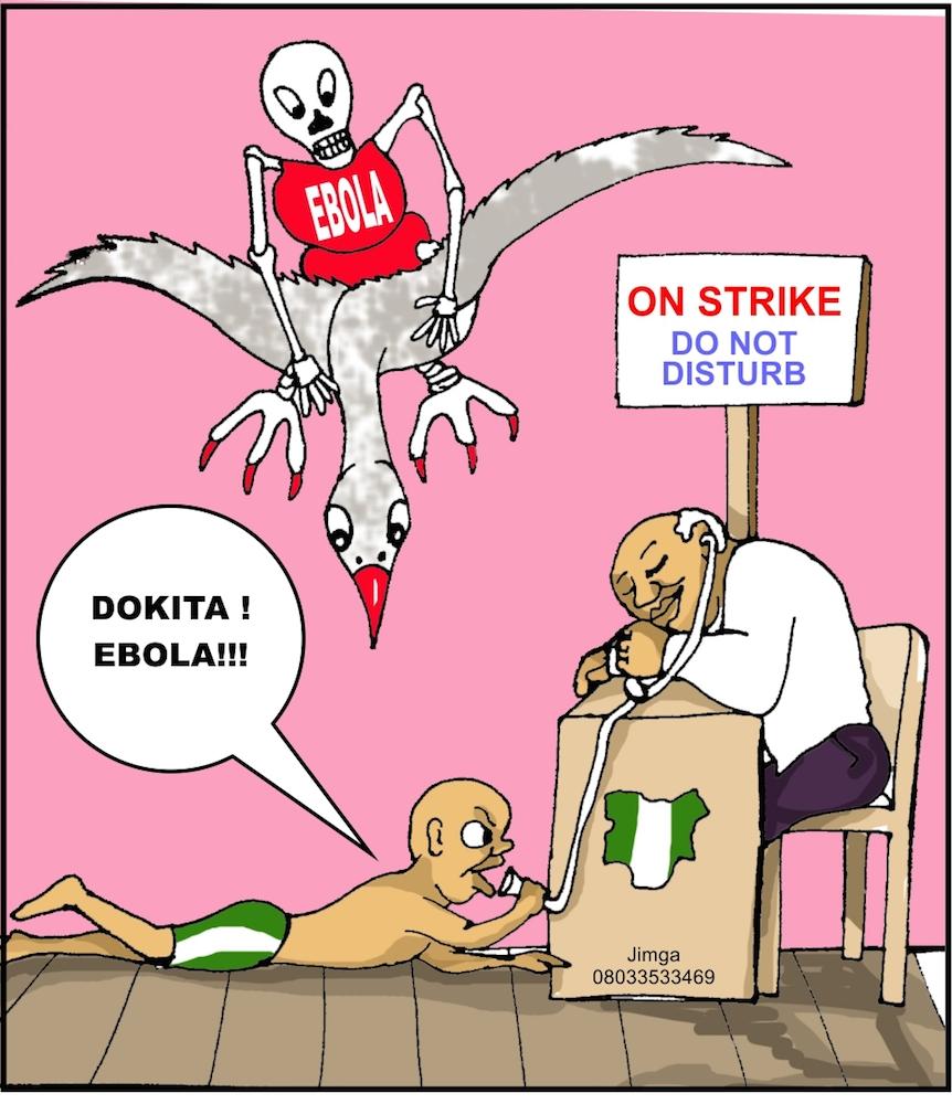 Ganiyu Jimoh - ebola virus