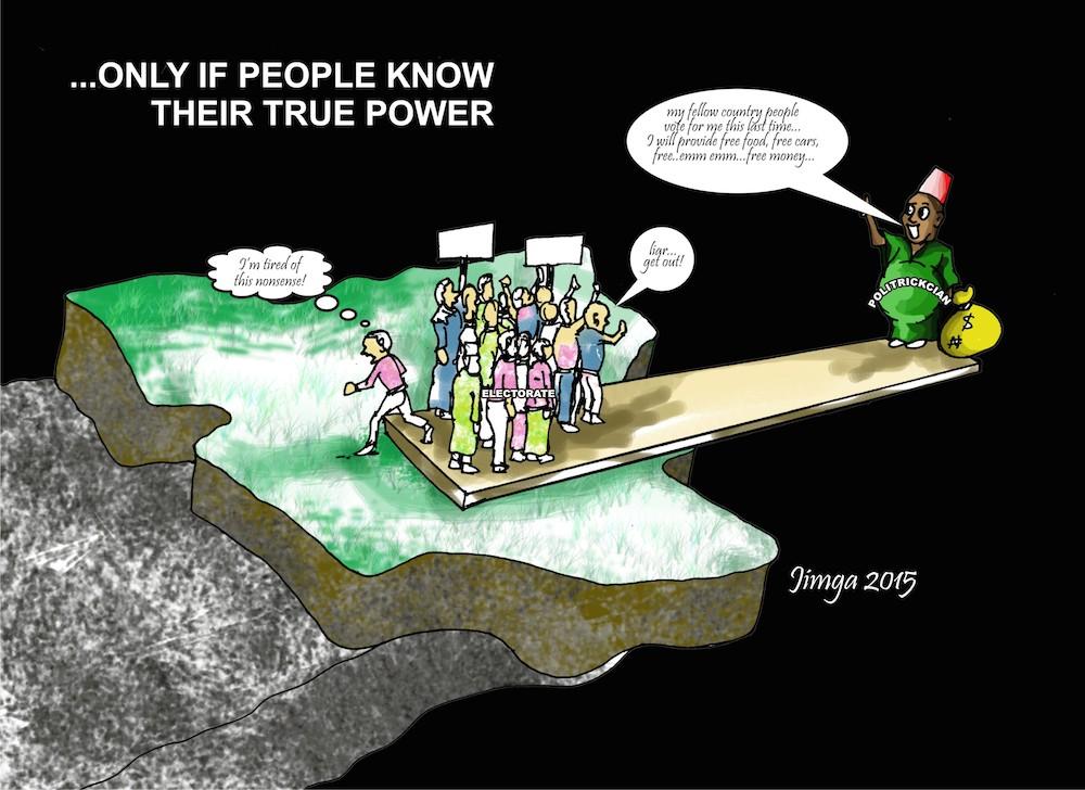 Ganiyu Jimoh - power to the people