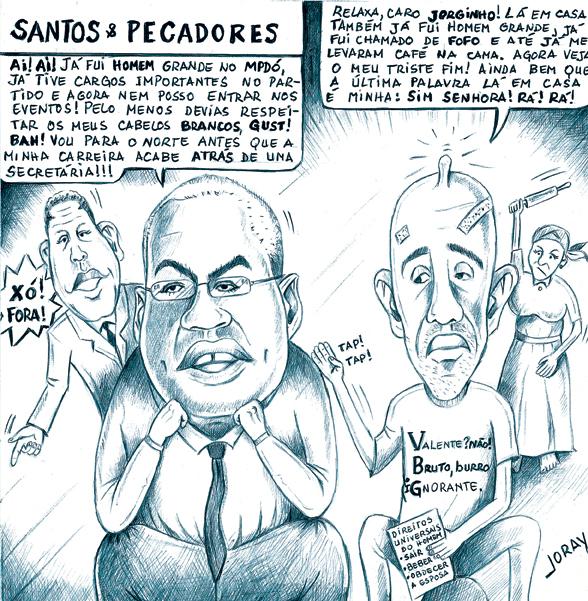 Joray-Santos e pecadores