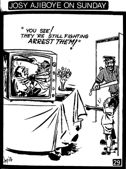 Josy Ajiboye Sunday 27_Arrest Them
