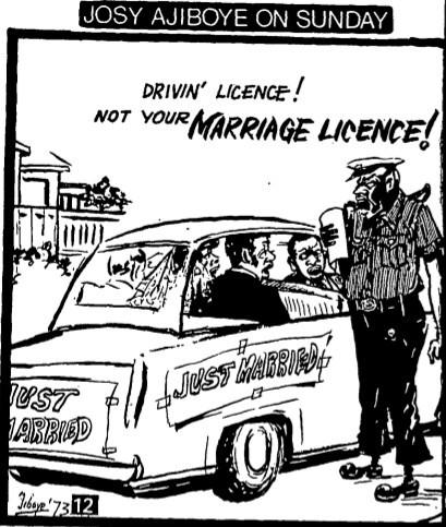 Josy Ajiboye Sunday 38_Marriage Licence