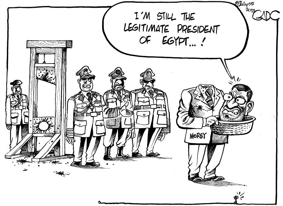 Gado -  Morsi still the Legit President of Egypt