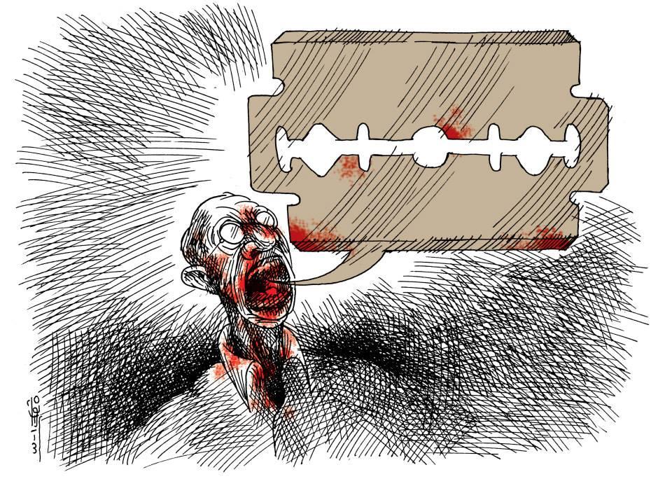 khalid Gueddaar- My Voice Africa Cartoons