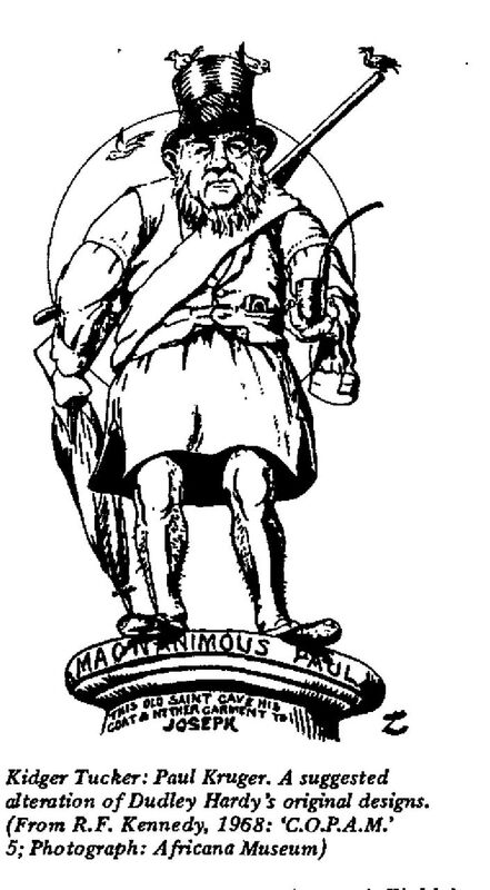 Paul Kruger, A suggested alteration of Dudley Hardy's original designs