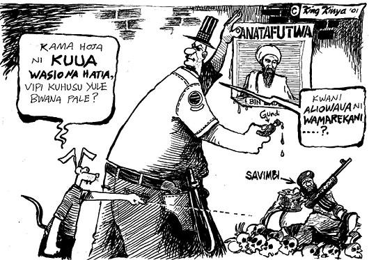 King kinya - Terrorism defined, American way
