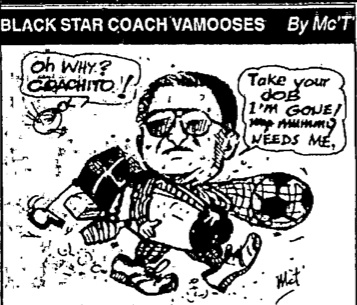 Mac Tee - Black Star Coach Vamooses