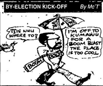 Mac Tee - By Election Kick-Off