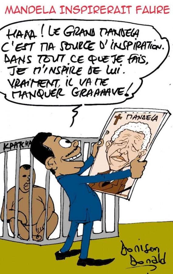 Mandela inspirerait Faure