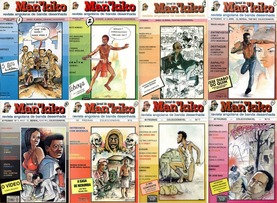 Henrique Abranches - Mankiko Covers, 8 Issues