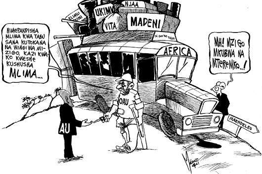 Masoud Kipanya - OAU Hands Over to AU!