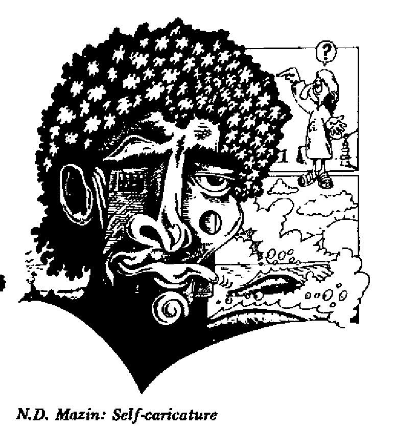 N.D. Mazin- Self-caricature