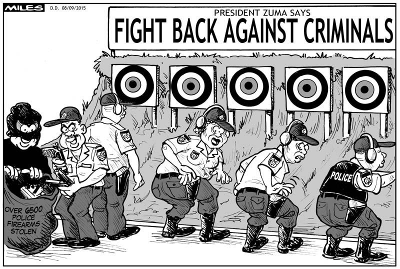 Miles - fight back against criminals