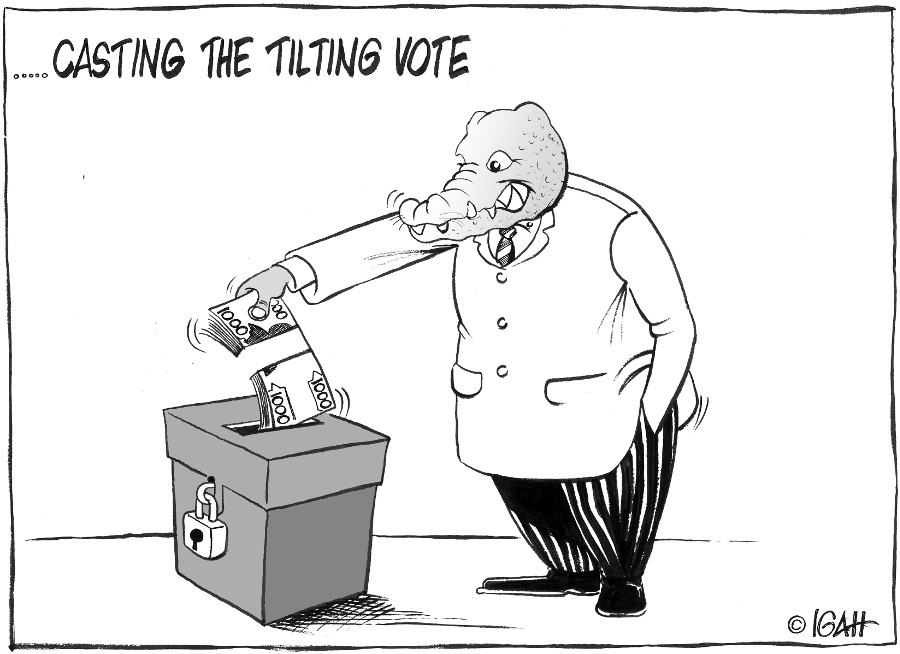 Muigal-casting the vote