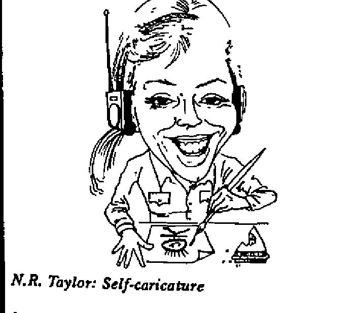 N.R. Taylor- Self-caricature