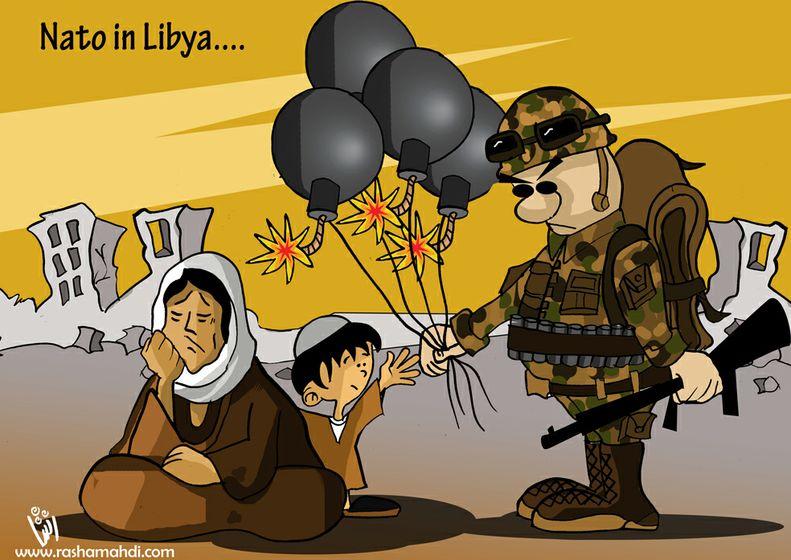 Rasha Mahdi - Nato Balloons for Libyan Children