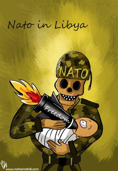 Rasha Mahdi - Nato in Libya