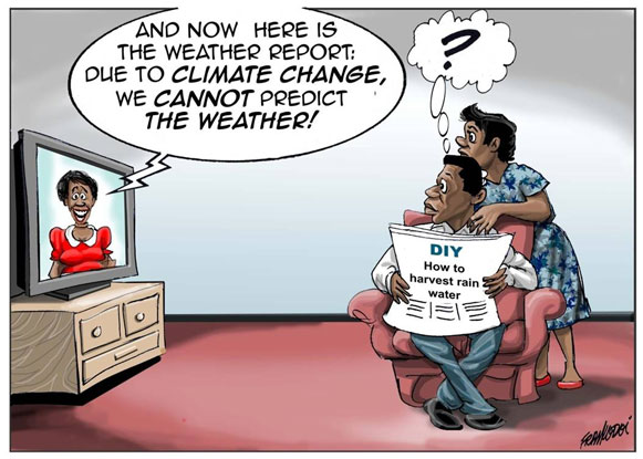 No weather prediction because of climate change