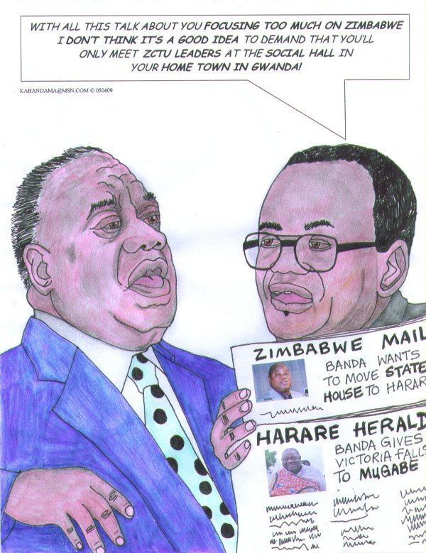 Ntheye Kabandama-Focus on Zimbabwe-Gwanda-Lusaka Times-2009-5-7