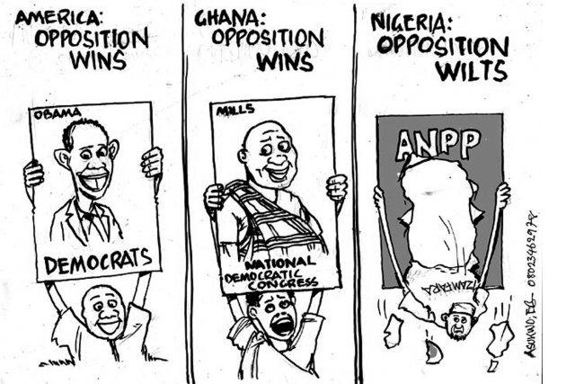 Opposition wins elsewhere but wilts in Nigeria
