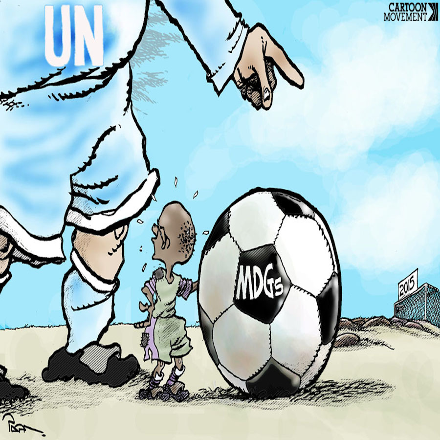 "Popa - ""The Ball in Your Court:"" MDGs Too Huge an Endeavor!"