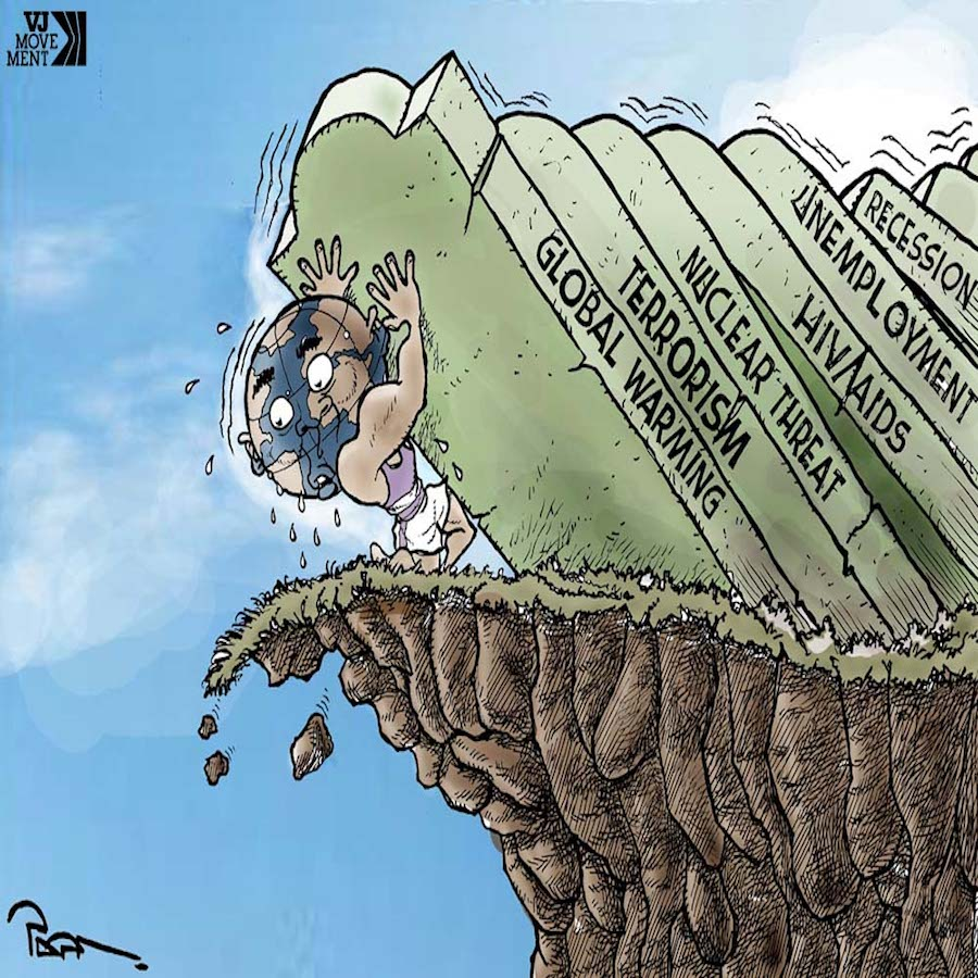 Popa - The World on the Edge of the Cliff with Problems!